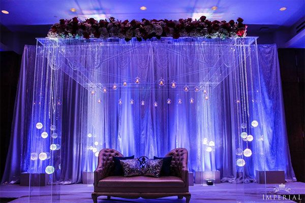 Bright hangings and drapes