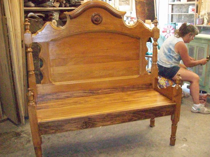 25+ Best Ideas About Bed Frame Bench On Pinterest
