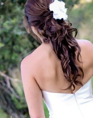 wedding hairstyles half up half down curly can my hair ever look like this pinterest