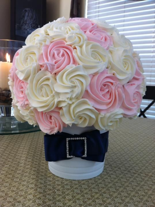 25 Best Ideas About Mini Cupcake Bouquets On Pinterest