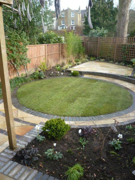 circular garden design ideas circular lawns - Google Search | Landscape Design