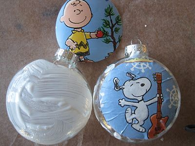 1000 Images About Tis The Season Decoupage Ornaments On