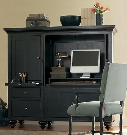 Home Office Remodeling Lincoln NE Computer Armoire