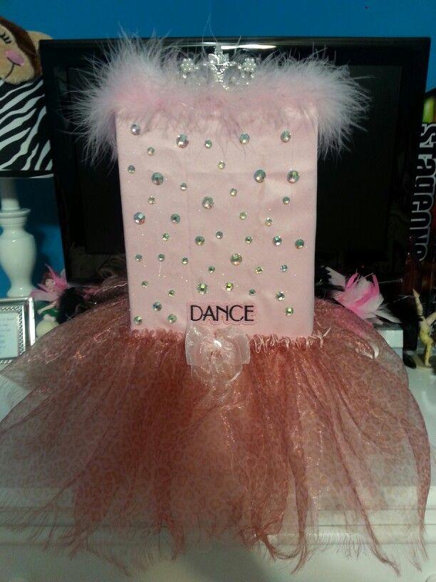 Dance Themed Valentine Box Valentines Day Pinterest