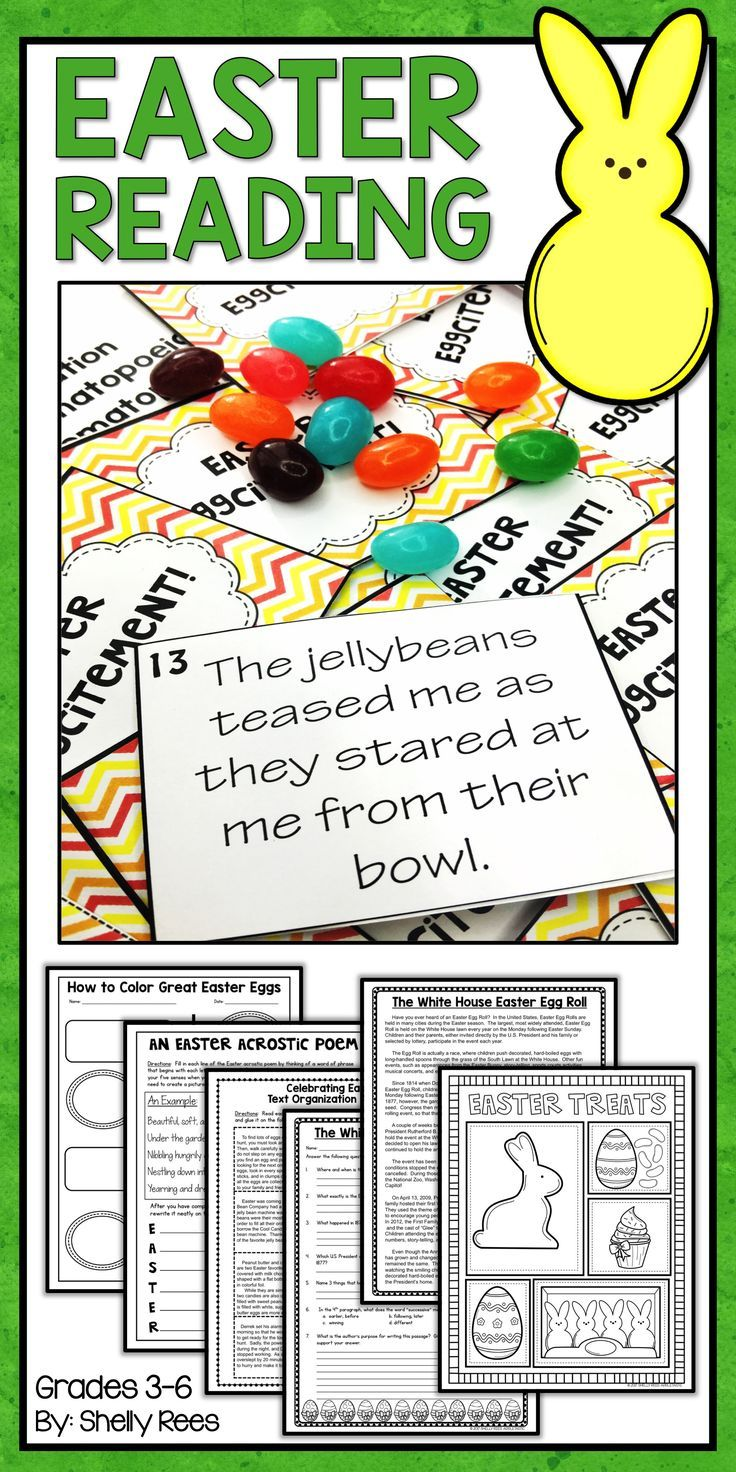 1000 Images About Easter Language Arts Ideas On Pinterest