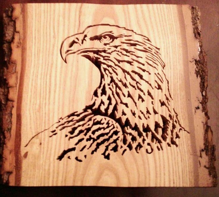 Bald Eagle Carving Patterns