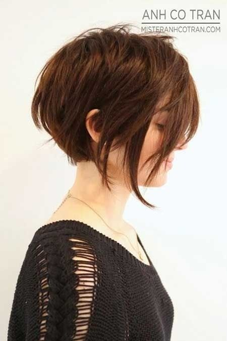 Short cuts for thicker hair…just in case I ever go crazy and decide I want short hair again. Wouldnt do pixie or those dumb