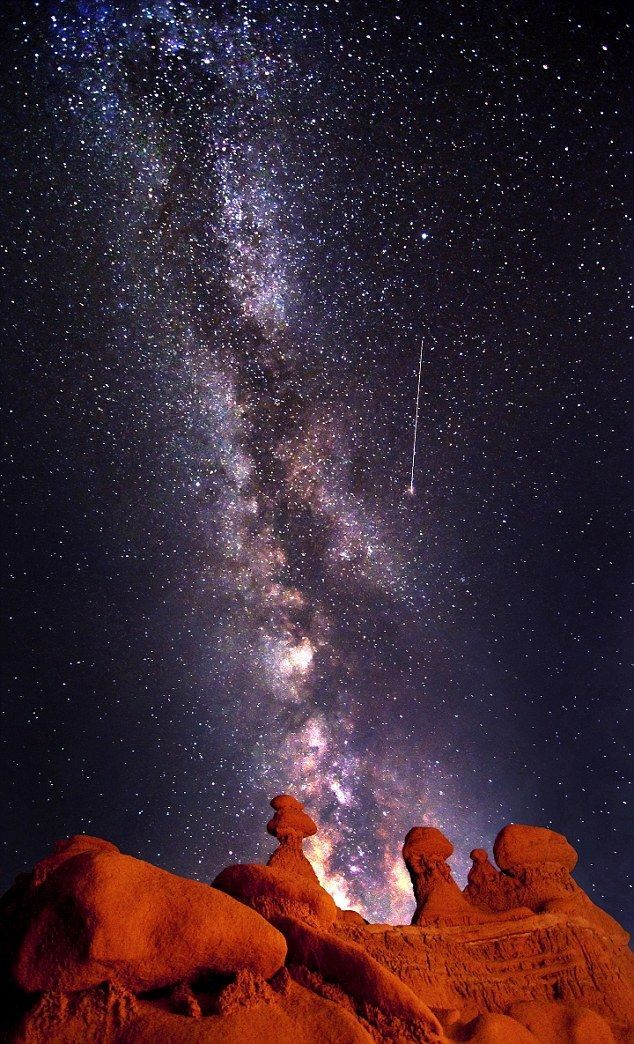 25 Best Ideas About Shooting Stars On Pinterest Milky Way Star Trails And Outer Space