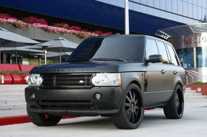 My Baby Matte Black Range Rover