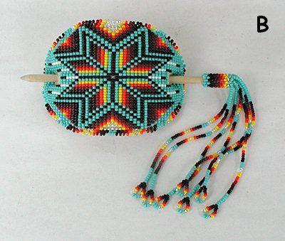 Native American Beaded Bracelets | … made and hand beaded by a Lakota artist from Pine Ridge, South Dakota