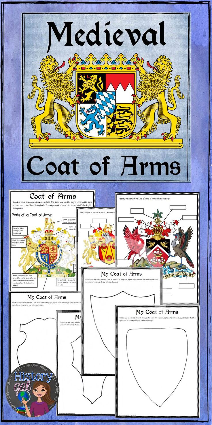 Family Coat Arms Activity