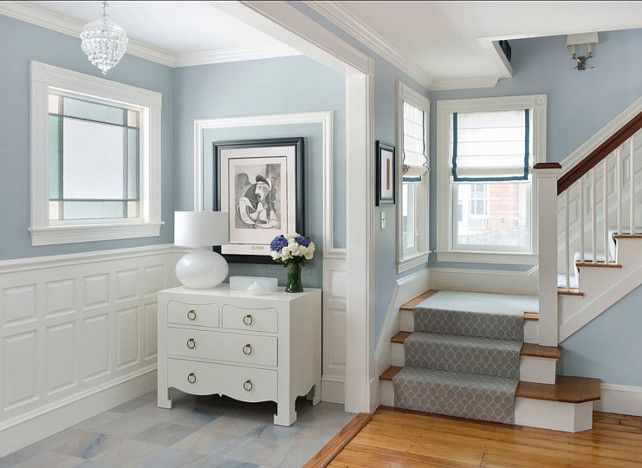 Benjamin Moore Paint Color Boothbay Gray Blue