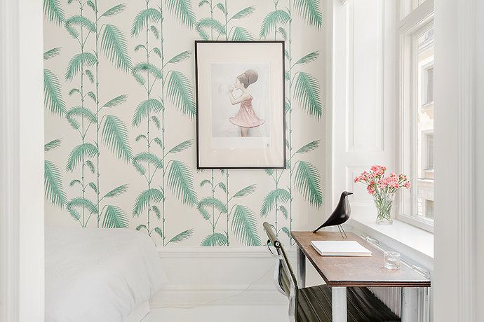 My Home For Sale Palm Tree Wallpaper By Cole Amp Son