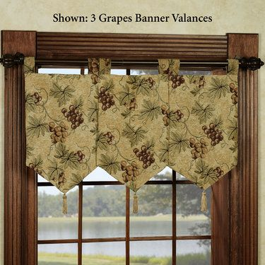 Valances Banners And Yellow On Pinterest