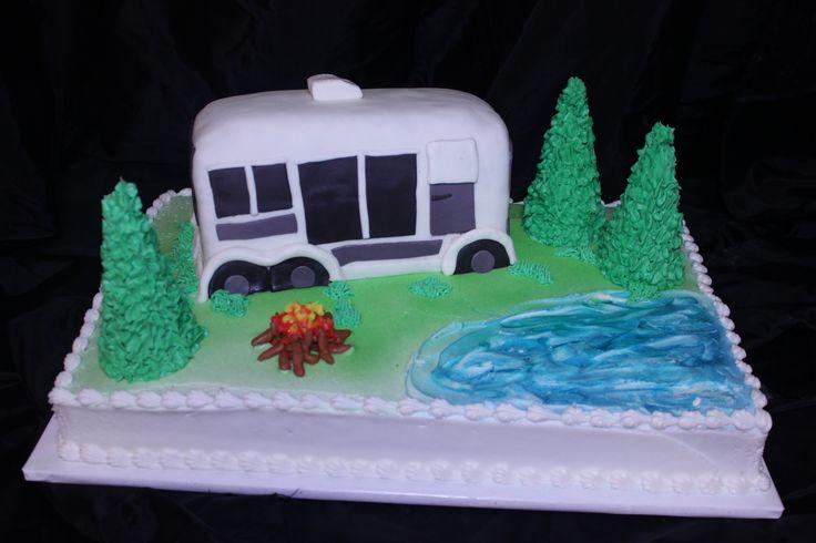 Rv Cake Cakes Pinterest Cakes