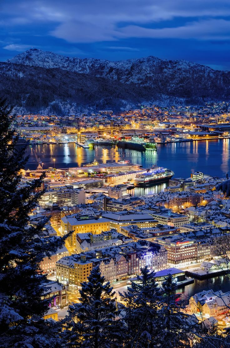 Bergen, Norway / 34 Places That Are Even Better During The Winter (via BuzzFeed) # WebMatrix 1.0