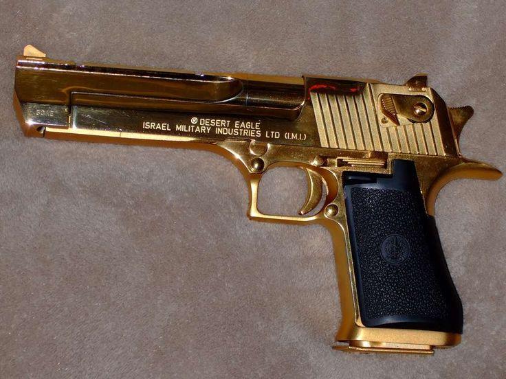 Gold plated desert eagle goldplateddeserteaglejpg