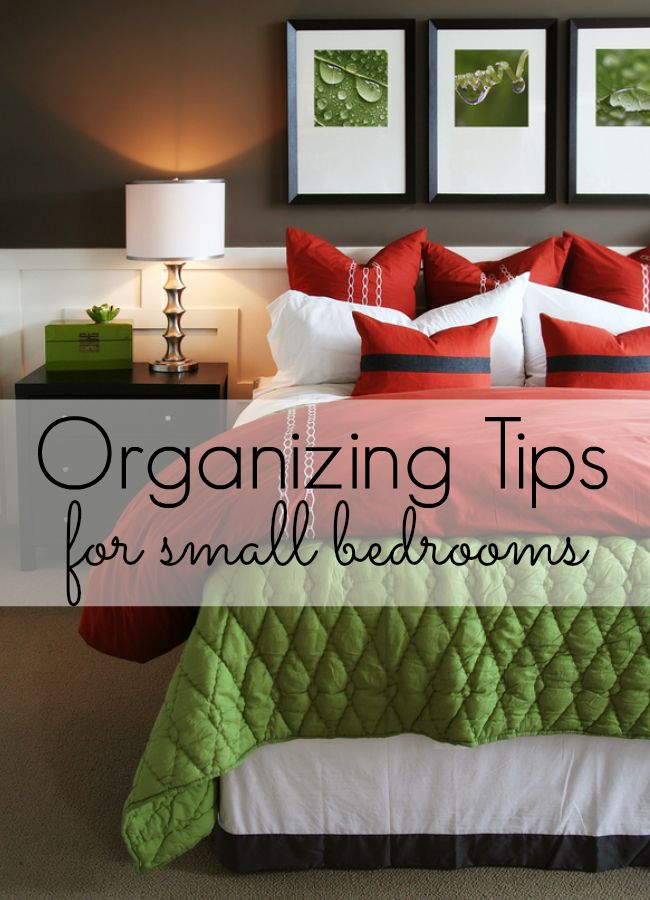 Make The Most Of Your Sleeping E By Trying Out These Organizing Tips For Small Bedrooms