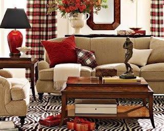 Naturals Look Great With Red Accent With Espresso Deep