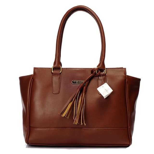 Coach Legacy Candace Carryall Medium Brown Satchel