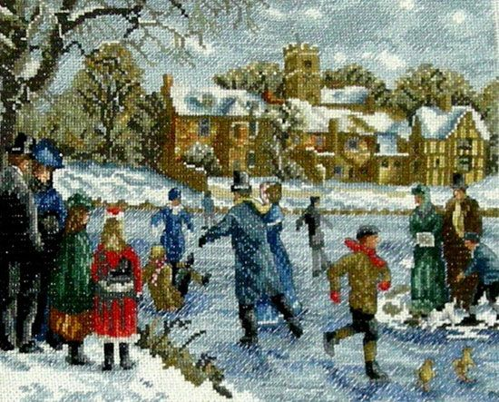 1000 Images About Victorian Christmas Scenes On Pinterest