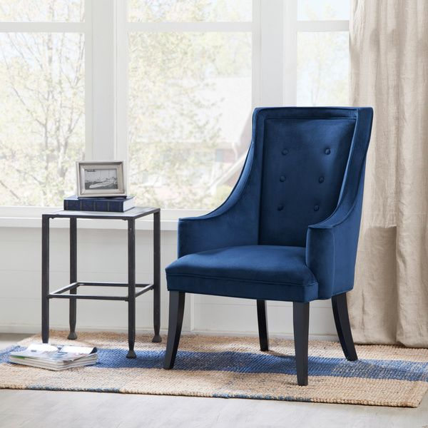 Murano Navy Accent Chair Chairs Navy And Navy Accent Chair