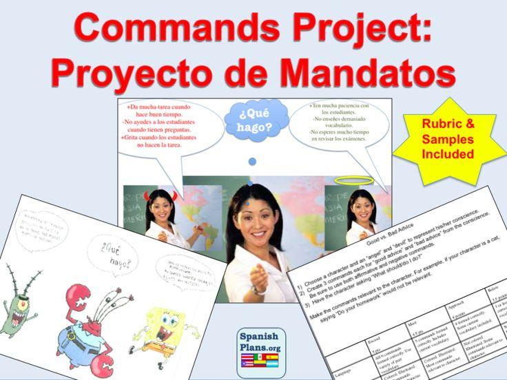 Proyecto de mandatos teach pinterest