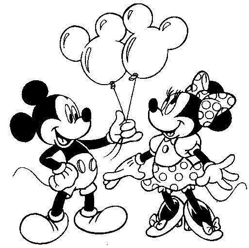 Mickey Mouse Ausmalbilder 09 Malerei Pinterest