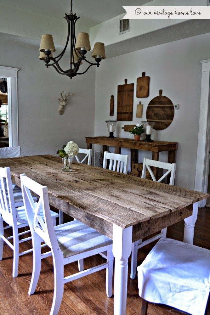 Fresh And Rustic Finish Barn Wood Mixed With New Wood