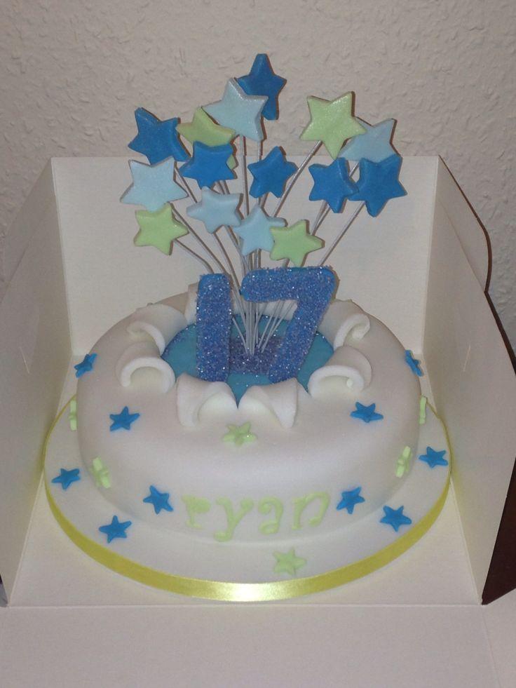 17th Explosion Birthday Cake 13 09 2013 My Cakes
