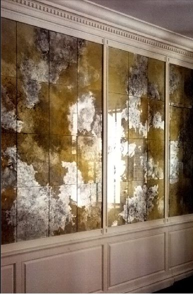 28 best images about verre eglomise on pinterest window on mirror wall id=25527