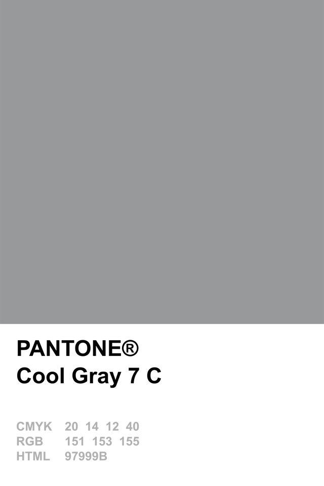 Color Pantone Grey Dark 2017