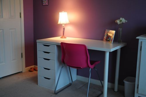 Ikea LinnmonAdils Table With Alex Drawer Kids Rooms