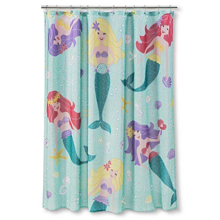 Circo Mermaid Shower Curtain I Still