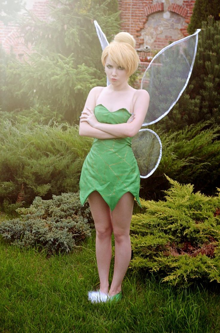 25 Best Ideas About Diy Tinkerbell Costume On Pinterest
