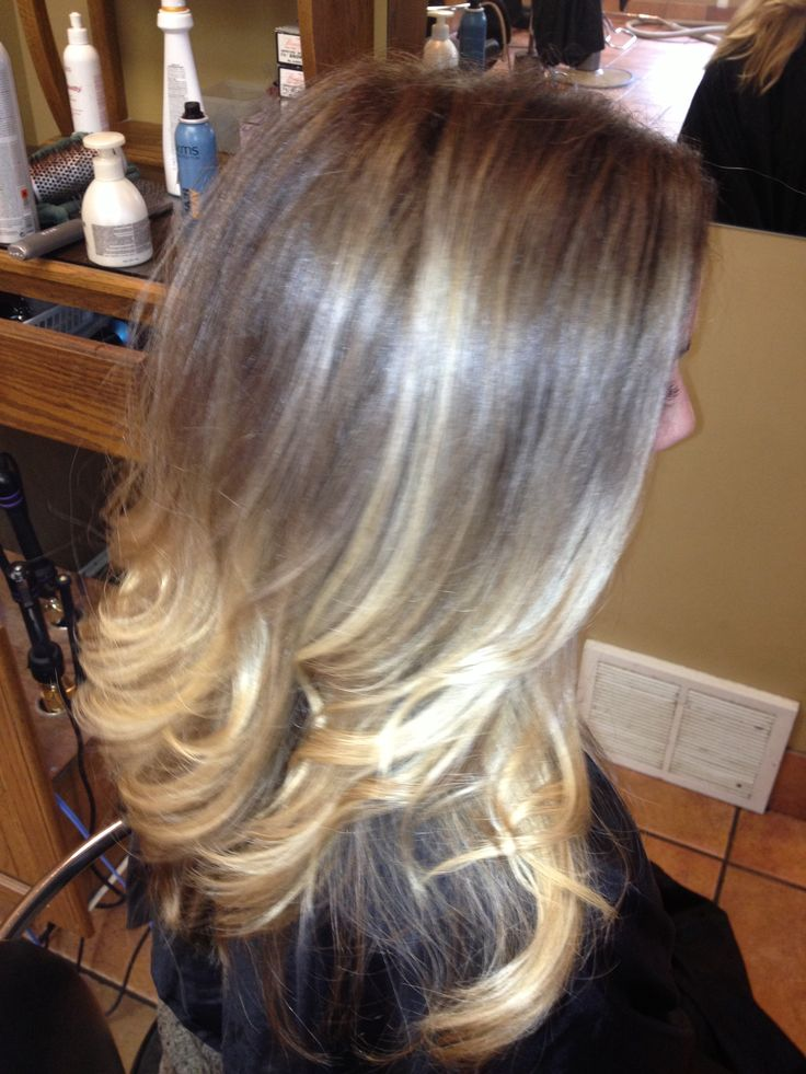 Blended Outgrown Highlights To Ombre Hair By Me