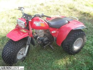 For Sale: HONDA 3Wheeler ATC 200M, runs & rides all day