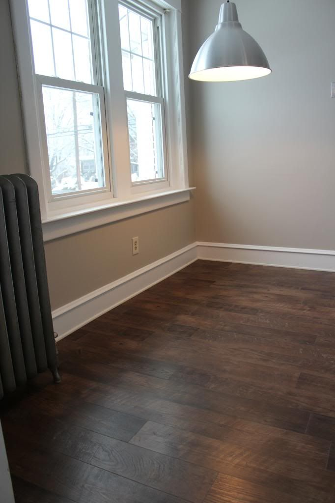 Kitchen Update: Floors, Cabinets and Countertops  Johnsonite vinyl flooring – not what you normally think of with vinyl