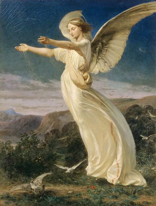 72 Best Angel Art Paintings Amp Holy Cards Of Angels Images