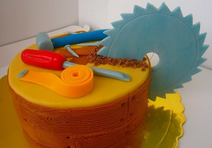 Carpenter Cake You Cake My Day Pinterest Cakes