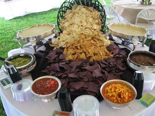 Chips and Salsa Bar – looks