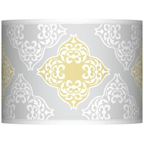 Aster Grey Giclee Glow Lamp Shade 135x135x10 Spider