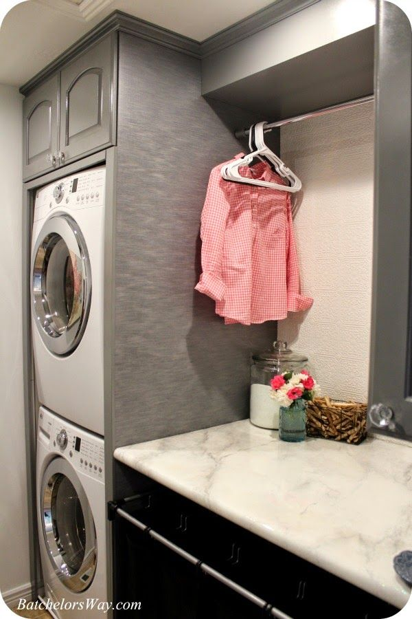 Batchelors Way: Laundry Room Reveal or How to Pack Lots of Function into Your Laundry Room for Less! Lots, and lots, and lots of