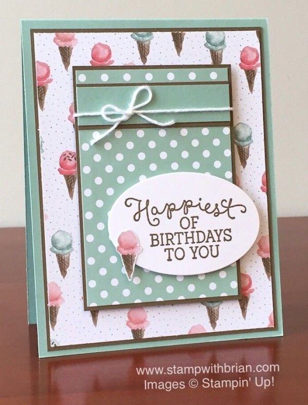 Birthday Blooms, Birthday Bouquet Designer Series Paper, Stampin' Up!, Brian King, GDP014