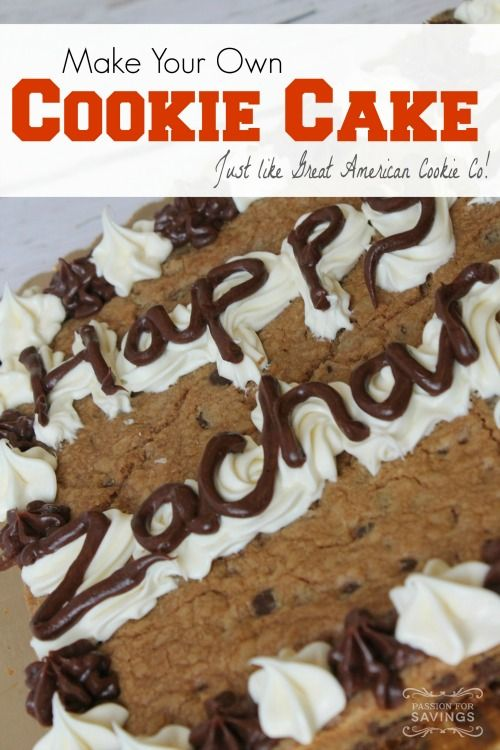 Be sure to check out this Homemade Great American Cookie Cake Recipe! Cut down on your Birthday Cake Cost with this Delicious
