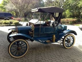 1911 Ford Model T Torpedo Runabout: