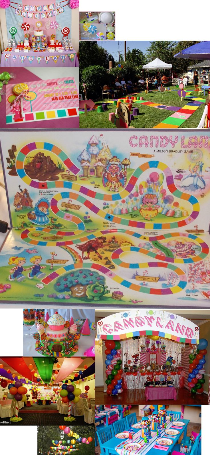 candyland party ideas for a childs birthday