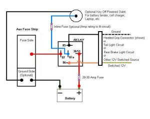 14 Pin Relay Wiring Diagram | Topic: Aux Fuse Box Wiring