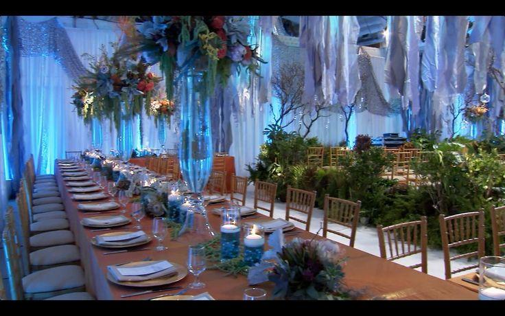 Under The Sea Wedding David Tutera Themed Weddings