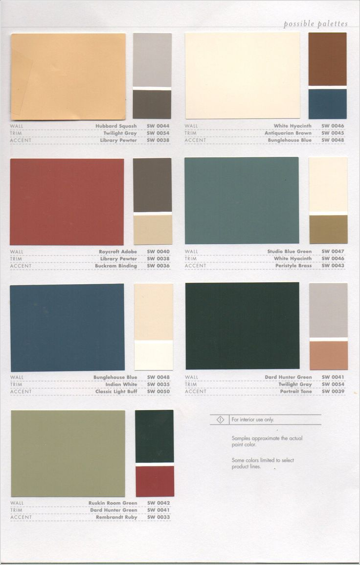 39 best 1920s house colors images on pinterest on interior color combinations for homes id=86413